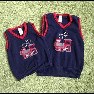 Other - Train sweater vest